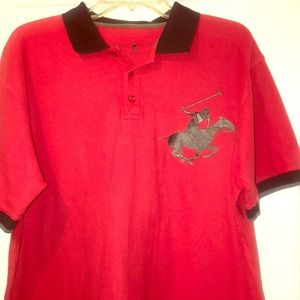 💥FINAL SALE💥Red Beverly Hills Polo Club Shirt
